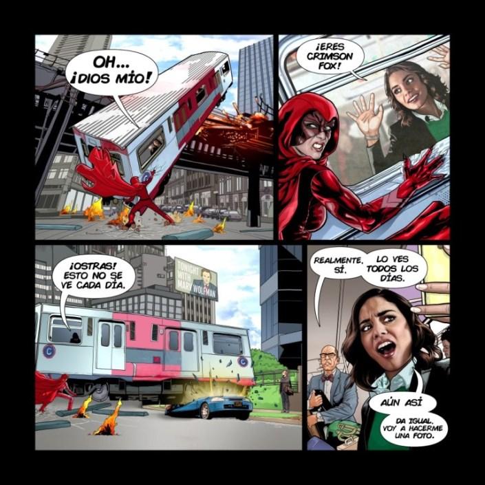 Powerless comic