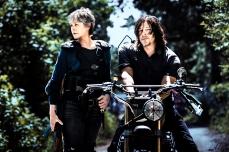 Norman Reedus as Daryl Dixon, Melissa McBride as Carol Peletier- The Walking Dead _ Season 8, Gallery - Photo Credit: Alan Clarke/AMC