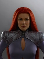 "MARVEL'S INHUMANS - ""Marvel's Inhumans"" stars Serinda Swan as Medusa. (ABC/Michael Muller)"