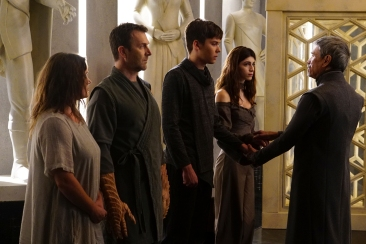 "MARVEL'S INHUMANS - ""Those Who Would Destroy Us"" - The highly anticipated new Marvel television series ""Marvel's Inhumans"" makes its debut on the small screen with the network premiere of the series' first two episodes on FRIDAY, SEPTEMBER 29 (8:00-10:01 p.m. EDT), on The ABC Television Network. (ABC/Karen Neal) STEPHANIE ANNE LEWIS, AARON HENDRY, ARI DALBERT, ANDRA NECHITA, MARCO RODRIGUEZ"