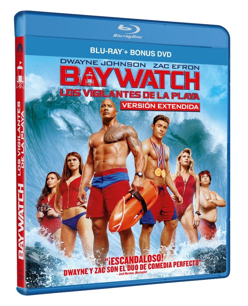 BAYWATCH LOS VIGILANTES DE LA PLAYA (BD + DVD EXTRAS) - VTA - 8414533108126