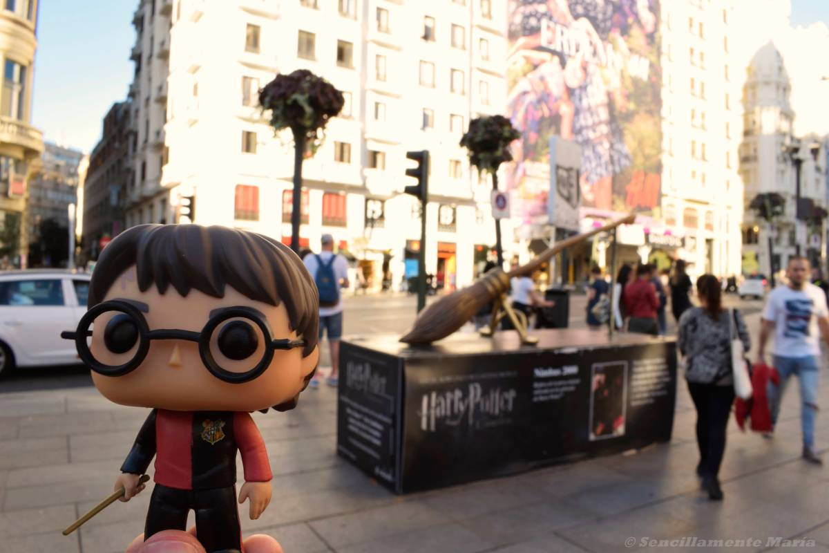 Nuestra ruta Harry Potter: de estatua en estatua