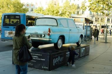 Ford Anglia de Arthur Weasley