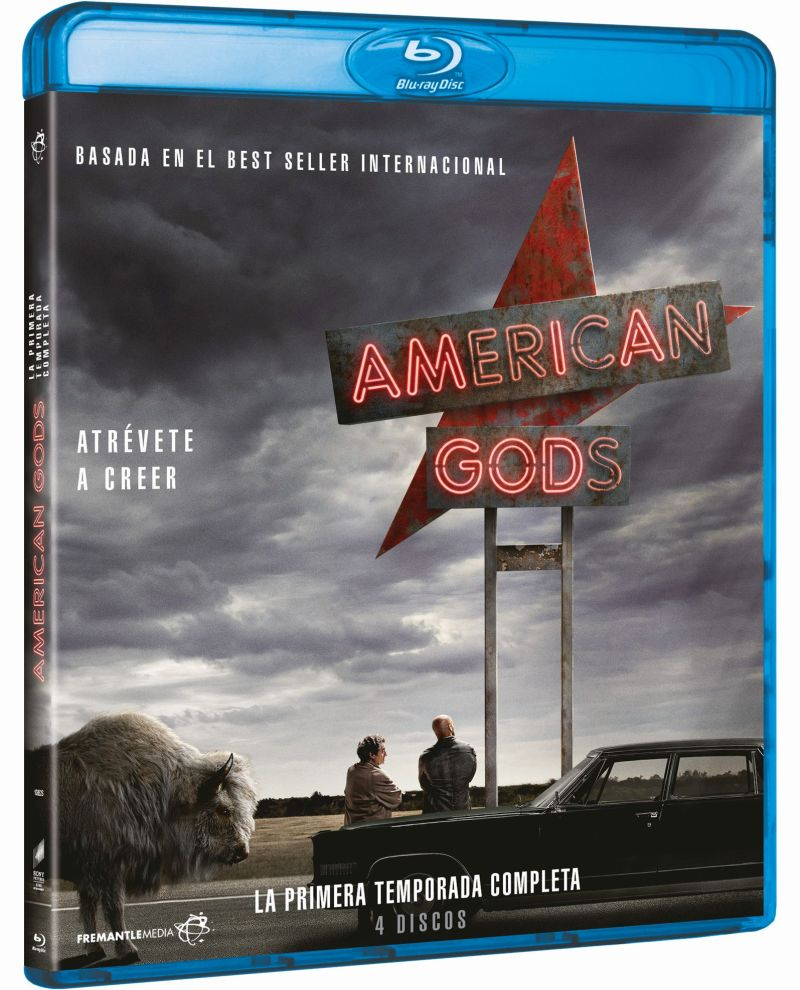 TV AMERICAN GODS (TEMPORADA 1) (BD) - VTA - 8414533108829
