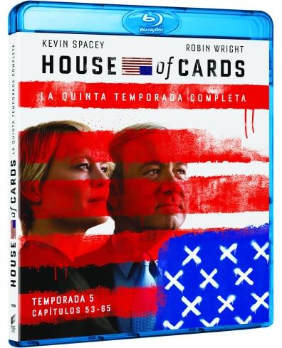 TV HOUSE OF CARDS (TEMPORADA 5) (BD) - VTA - 8414533107280