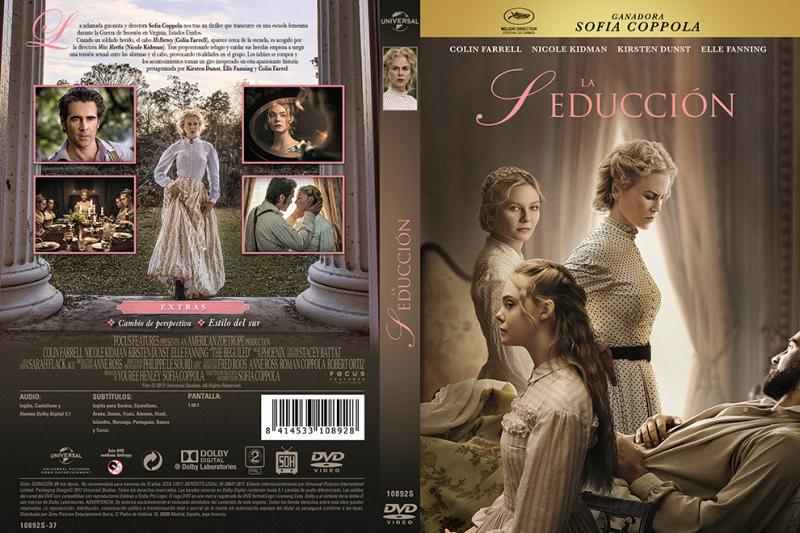 LA SEDUCCION DVD CONCDECULTURA