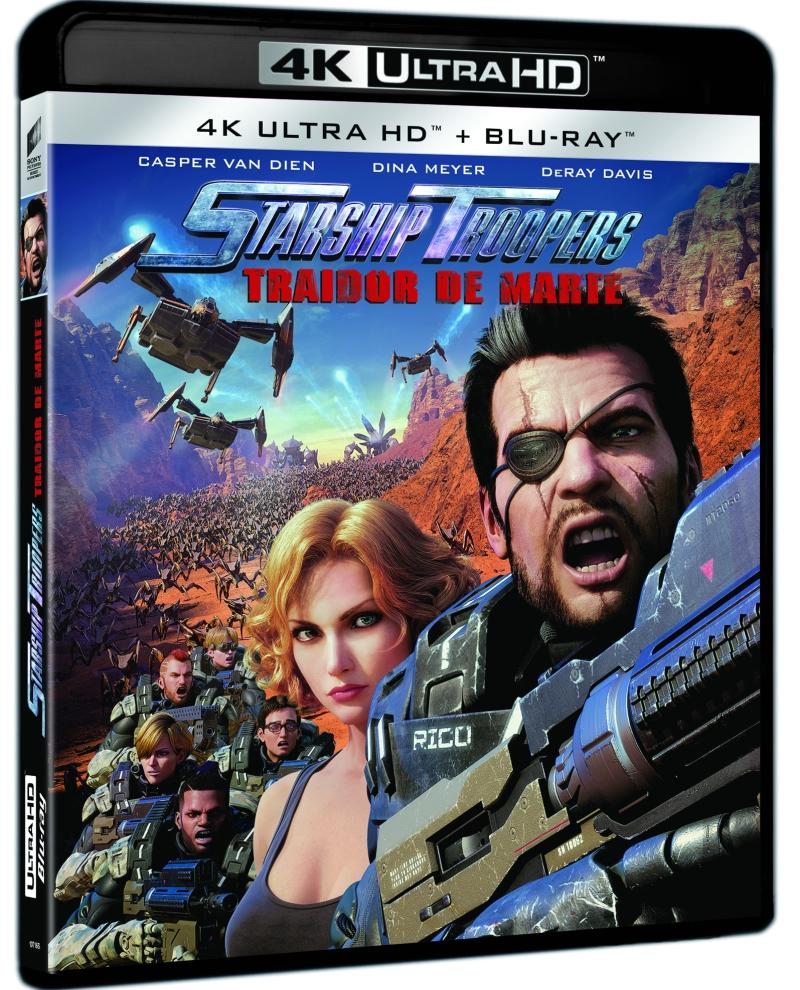 STARSHIP TROOPERS TRAIDOR DE MARTE (4K UHD + BD) - VTA - 8414533107167