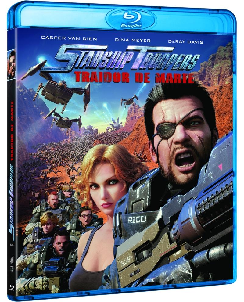 STARSHIP TROOPERS TRAIDOR DE MARTE (BD) - VTA - 8414533109253