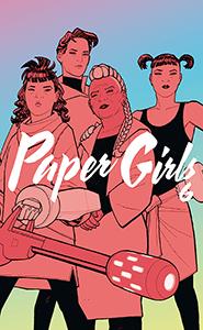 PAPER GIRLS TOMO 6 PORTADA - CONCDECULTURA