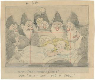 3 - Primeros bocetos de personajes (Blancanieves)