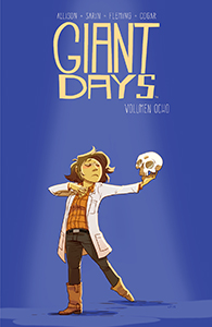 GIANT DAYS VOLUMEN 8 PORTADA - CONCDECULTURA