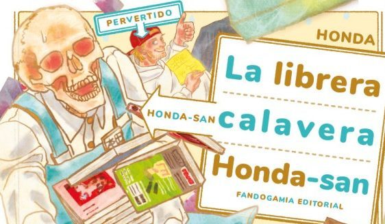 Librera calavera Con C de Cultura manga