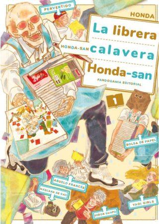 La librera calavera Con C de Cultura manga