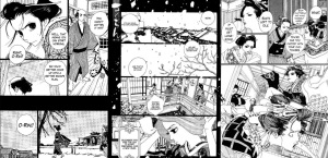 Sakuran, viñetas dibujo